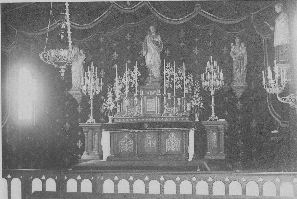 Photo de l'ancienne chapelle