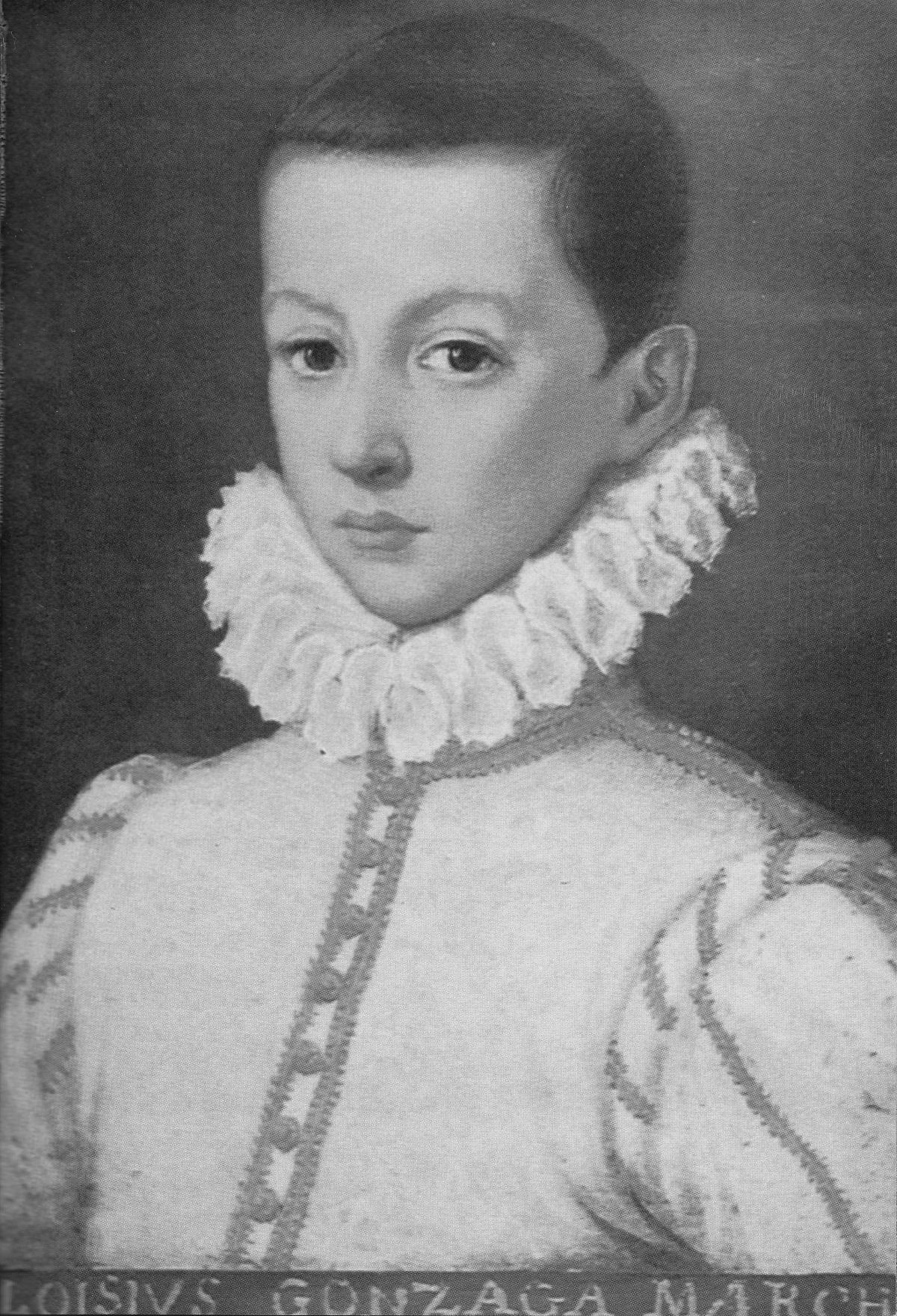 Photo du portrait de Saint-Louis de Gonzague